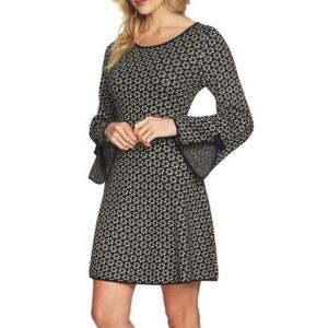 CECE Cynthia Steffe Birds Eye Knit Sweater Dress